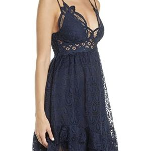 NWT Free People Adella Lace Dress